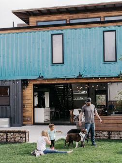 Shipping-Container-Home-lawn