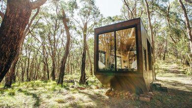 Photo of Modern kabin a világ elől elbújásra
