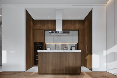White-and-wood-island-kitchen