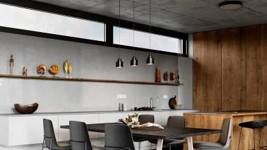 Photo of Két kifinomult otthon ipari stílussal
