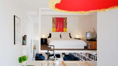 """Photo of """"Loft kocka"""", avagy a lebegő hálószoba a süllyesztett nappaliban"""