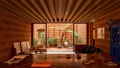 Photo of A mexikói ikon gazdag vörös tégla stúdiója