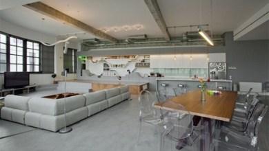 Photo of A korábbi ipari épületből lett modern fiatal szállás