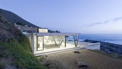 Photo of A Chilei Nyaraló szögletes támogató oszlopokat használ az esztétika és a kilátás megőrzéséhez