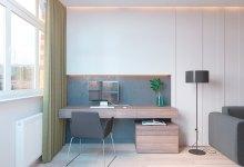 Photo of Így építs be otthoni irodát az egyszobás lakásbodba- alaprajzokkal
