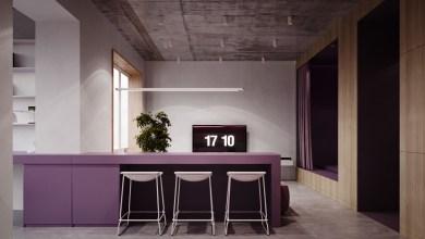 Photo of Rózsaszín és lila belsőépítészetű otthon