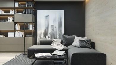 Photo of Kicsi stúdió apartman, okos elrendezéssel és gyönyörű dizájnnal