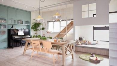 Photo of Játékos, modern tajvani otthon, beltéri csúszdával
