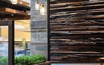 Photo of A Wood Mosaic újrahasznosított fából készít rusztikus lakásdekorációkat