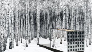 Photo of Apró ház fényvisszaverő napelemes üveggel borítva