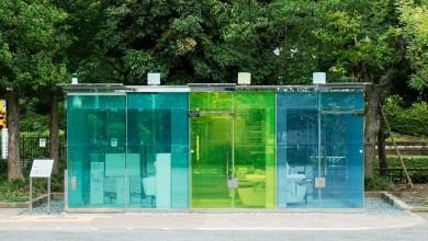 Photo of Tokiói tervezők átlátszó nyilvános vécéket helyeztek el a forgalmas parkokban