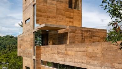 Photo of Lépcsős szerkezetű társasház, panorámás lakásokkal