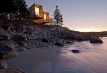 Photo of Hajó inspirálta családi ház a kanadai jeges tengerparton