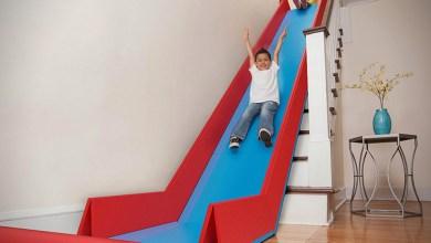 Photo of SlideRider: alakítsd a lépcsőt csúszdává, néhány perc alatt