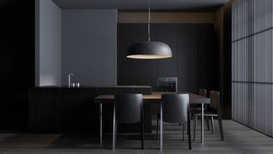 Photo of Lakberendezési inspiráció: fejezd ki sötét oldalad fekete és szürke belső terekkel
