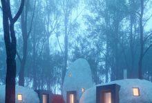 Photo of Egy kitalált butikhotel, túlméretezett kavics alakú lakosztályokkal