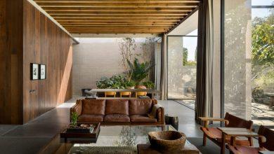 Photo of Egy mexikói domboldalon épített saját otthont és műtermet az elismert építész, Manuel Cervantes