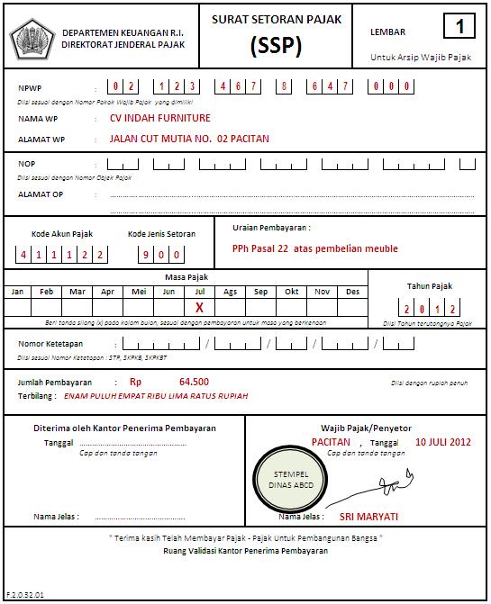 Cara Menghitung Ppn Di Excel : menghitung, excel, Perhitungan, Pembayaran, Pasal, Operator
