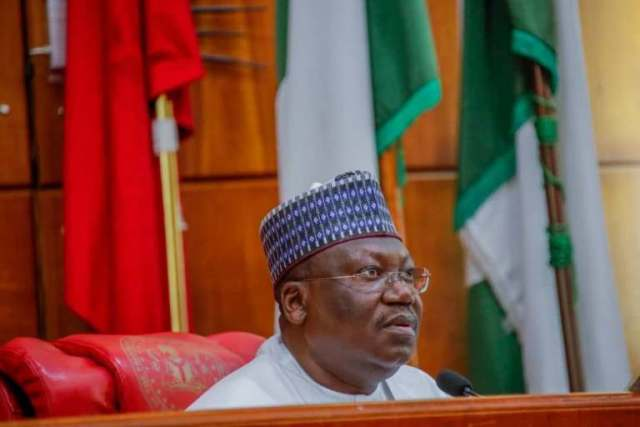 Senate President, Ahmad Lawan admits that borrowing loans by the country is the necessary option in view of the nation's dwindling revenue.