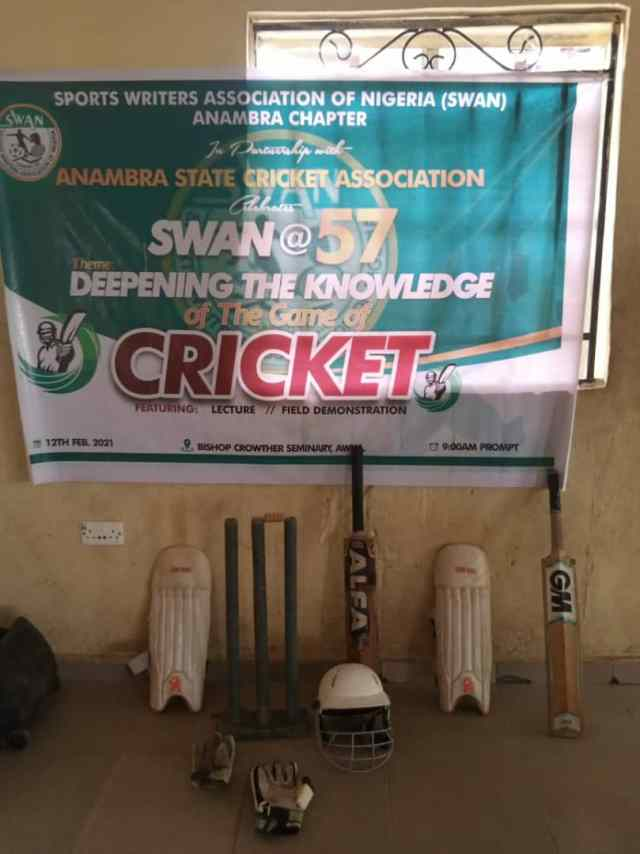 SWAN tasks Anambra govt on Cricket facility, and Oval in the state