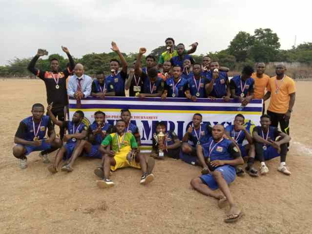 CYNOSURE FC WINS THE UDALA NLO PRE-SEASON TOURNAMENT TROPHY