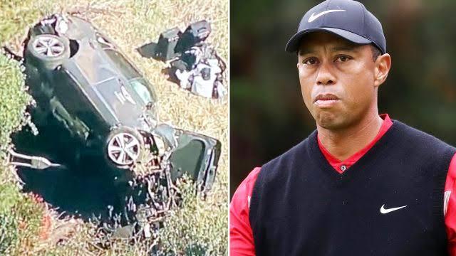 Tiger Woods Hospitalized Following A Car Crash