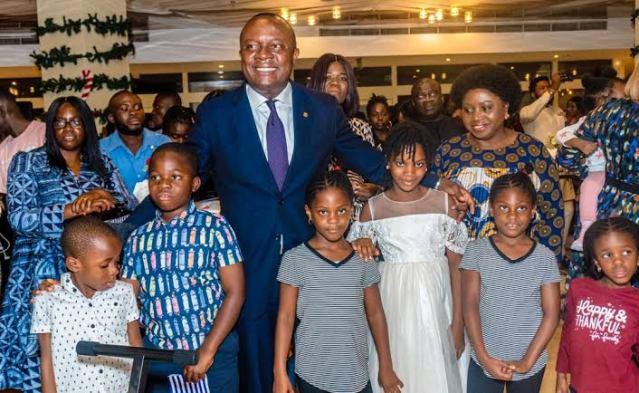 VAL Ozigbo Promises  Better Days For Children.