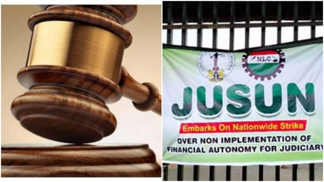 Courts to Reopen Monday as JUSUN Suspends Strike