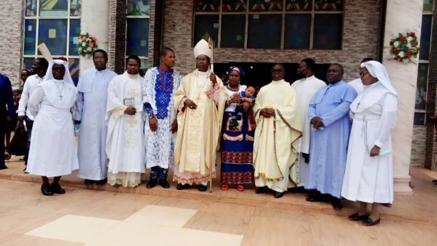 Child Dedication Helps Children Grow In Faith – Bishop Ezeokafor