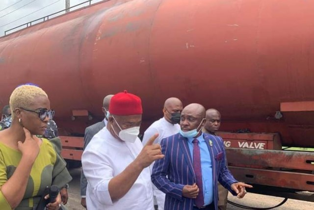 Imo State Authorities Nab Illegal Oil Bunkers
