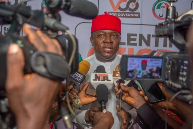 PDP Flagbearer Valentine Ozigbo Hosts Party Members on Reconciliation