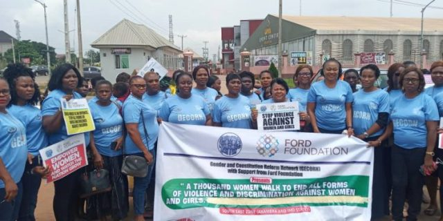 Women coalition demand end to gender-based violence, child marriage