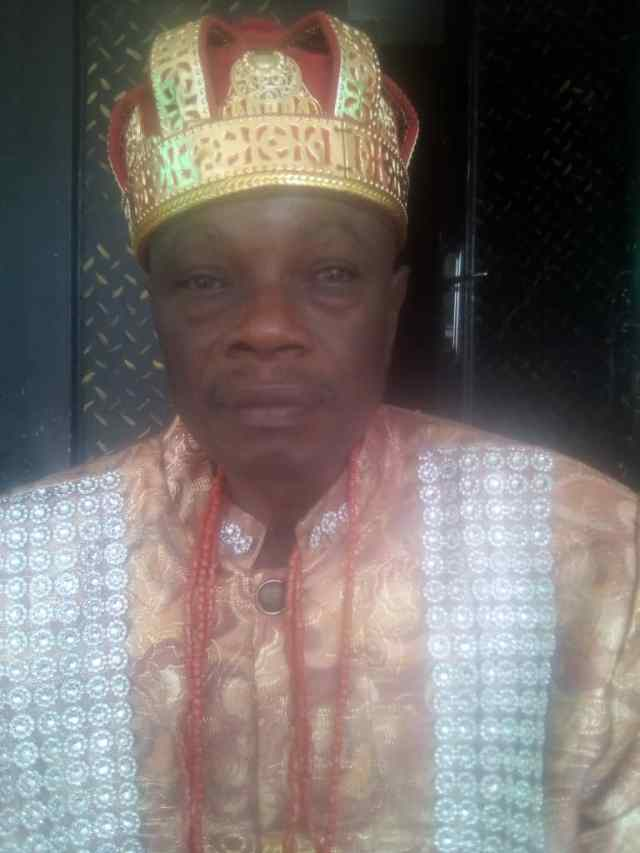 Umuawulu  Monarch  Solicits  Government's Presence In His Community.