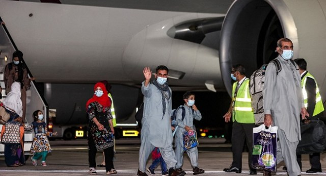 First civilian flight from Kabul since US exit lands in Doha