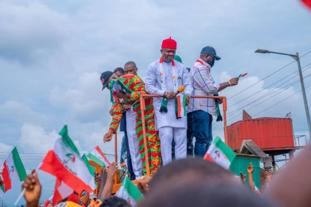 Anambra 2021: Valentine Ozigbo Given Hero's Welcome After Appeal Court Victory, INEC Clearance