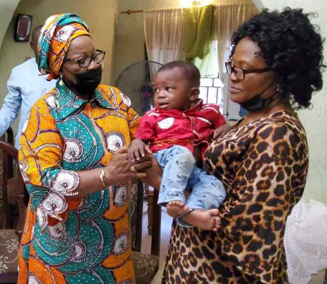 Enugu Govt Visits only Surviving Child of Family Wiped off by Food Poison