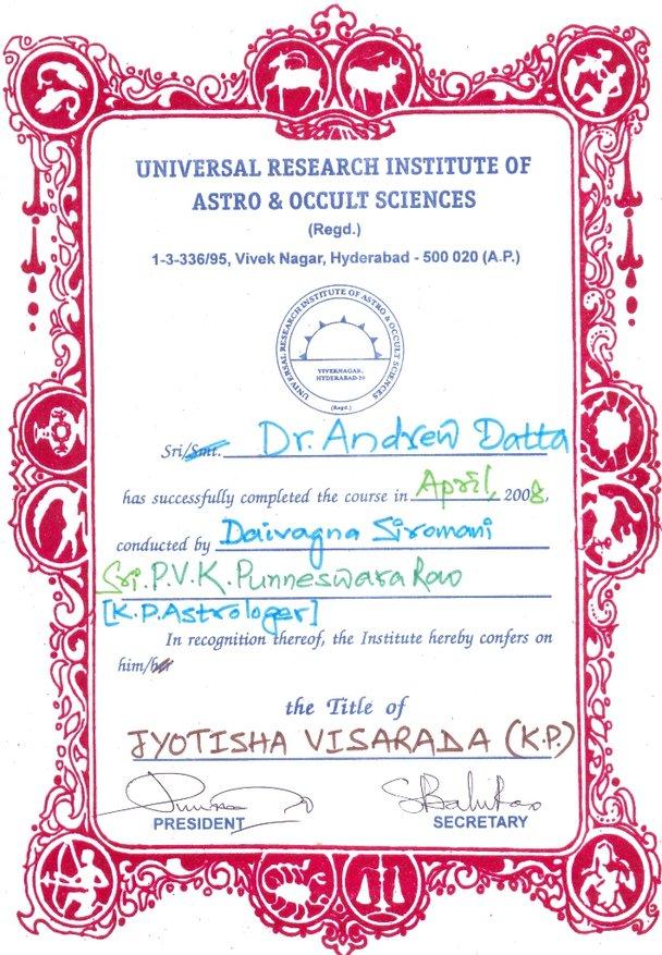 Daivagyna shoromani award