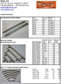 Product Catalog PDF Cabinet Hardware | KpaxInc