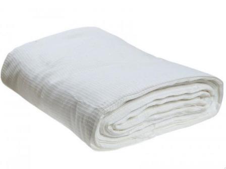 Ткань вафельное полотно техническое отбеленное 45 см 200 гр