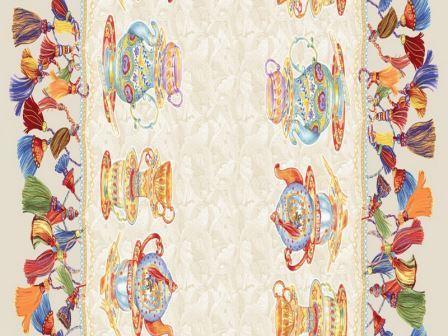Купить оптом вафельную скатерть на стол от производителя чаепитие 18810 вид 1