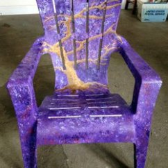 How To Paint Plastic Chairs Chair Cover Rental Grand Rapids Mi Bravo School Of Art Painted August 13 2014 Kpbs