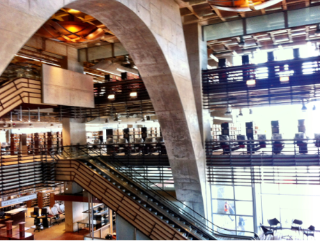 After 30 Years San Diego Central Library Now Open To The
