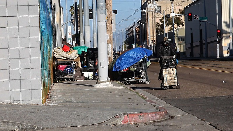 Annual Count Finds Nearly 9000 Homeless In San Diego