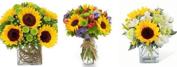 Какой цвет цветов дарят девушке - желтый