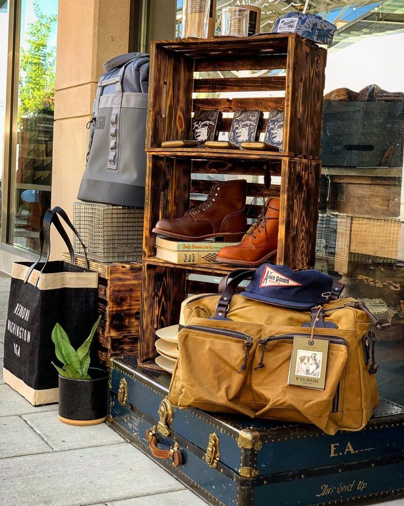 Asher Goods storefront in Kirkland WA