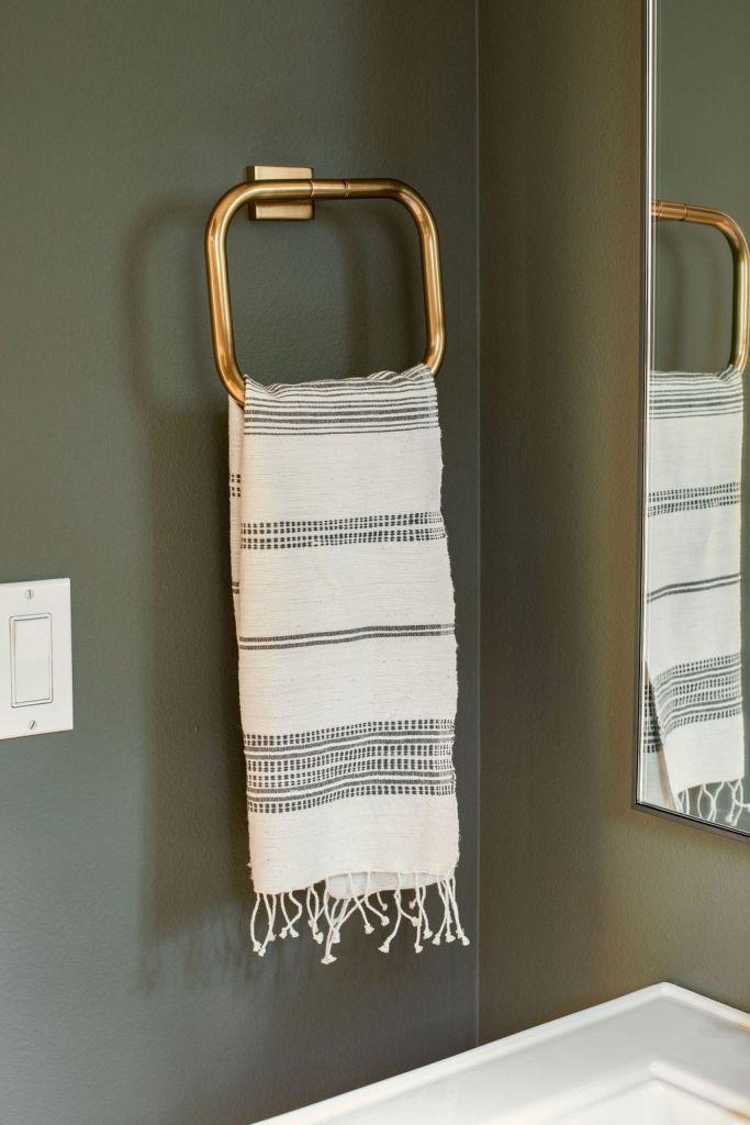 Restoration Hardware Towel Holder