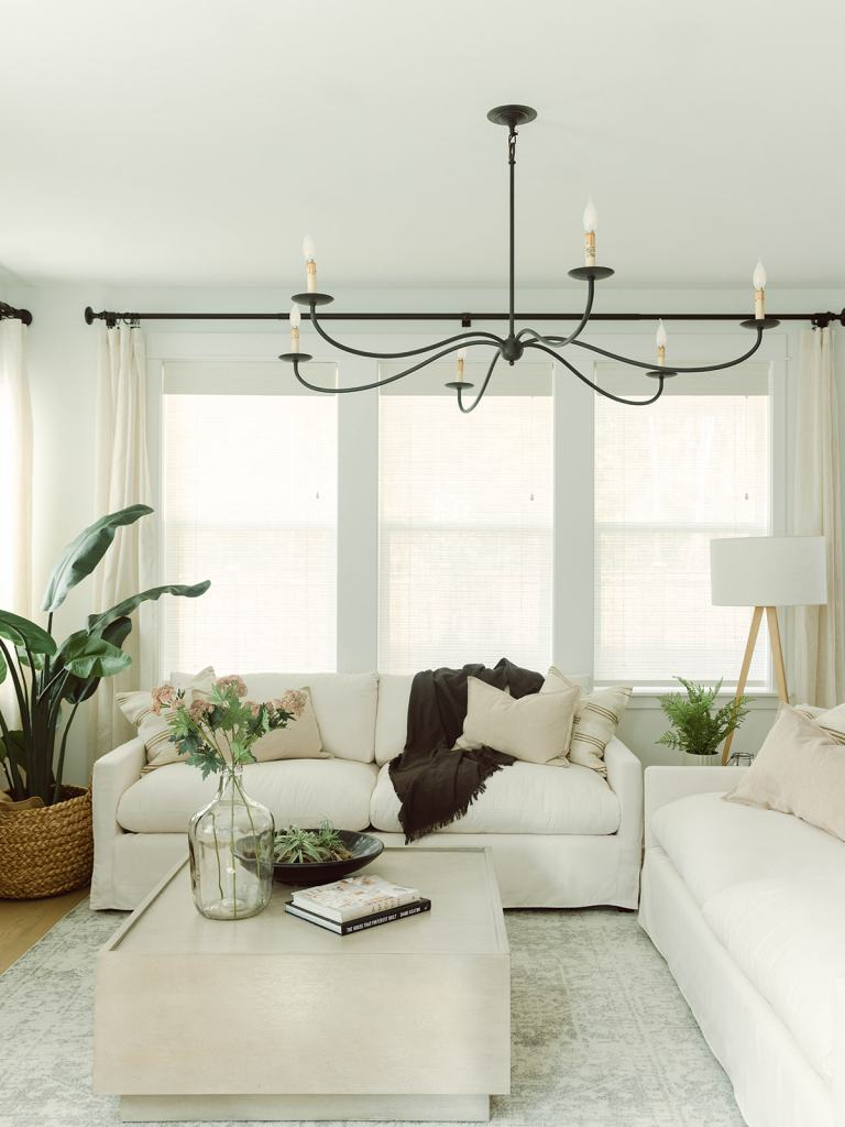 coastal modern great room
