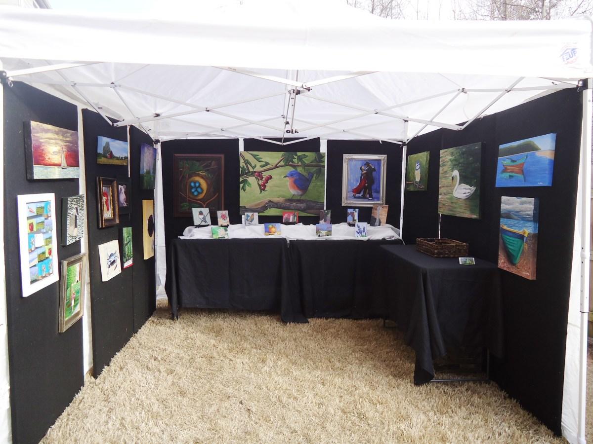Art Show Tent Display Walls