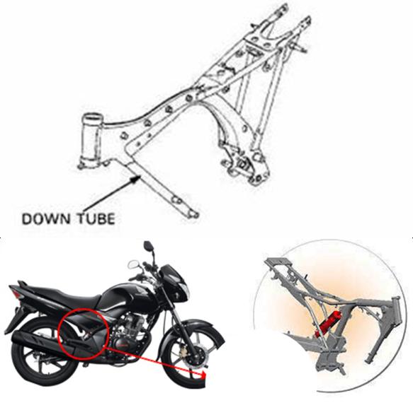 Tipetipe Frame  Rangka Sepeda Motor | KPHMPH : no speed