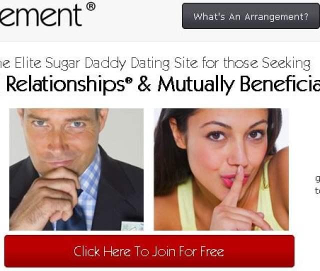 A Screen Shot From Seeking Arrangements Web Site
